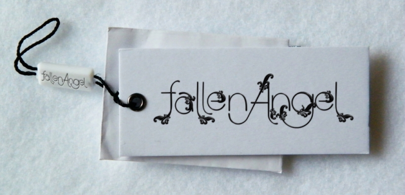 Logo hang tag design fallenAngel