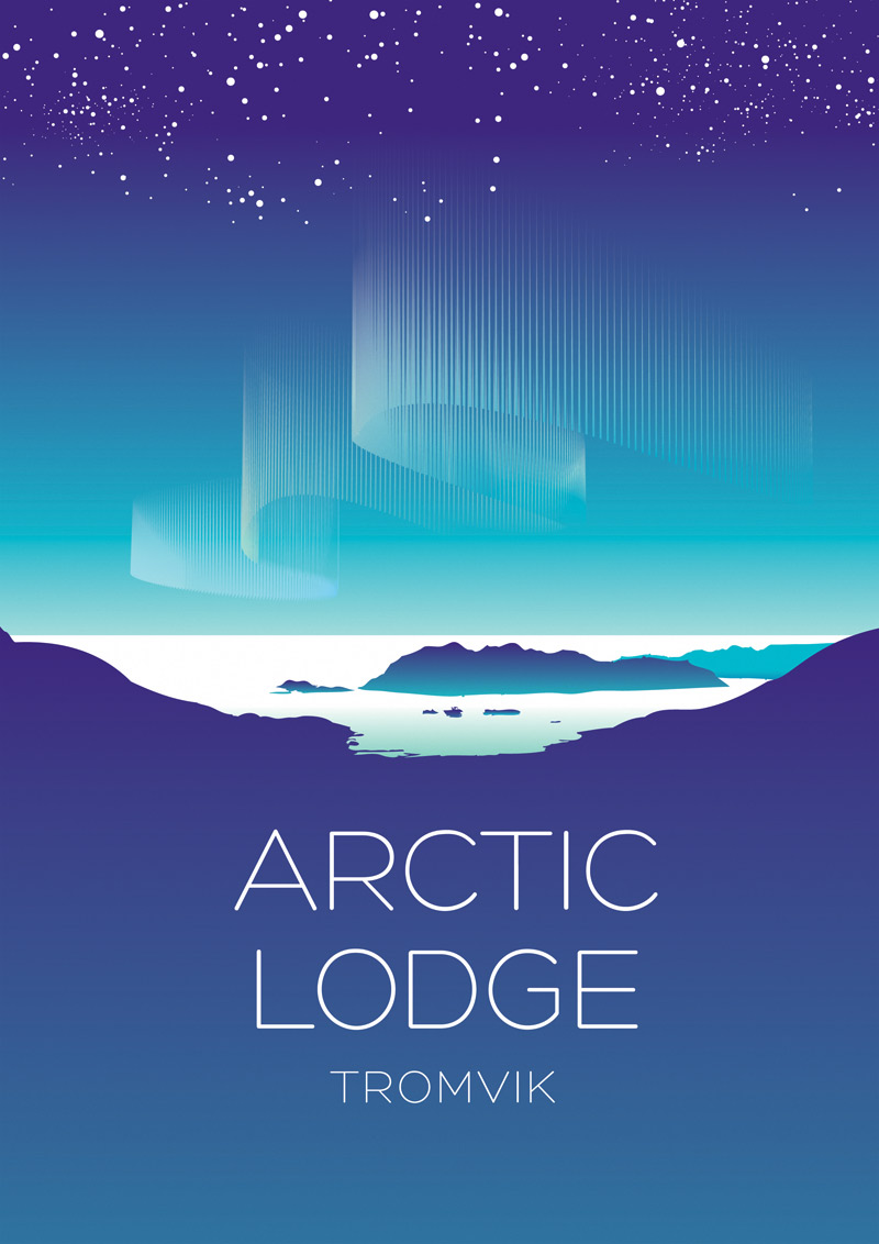 Arctic Lodge Tromvic Winter Logo